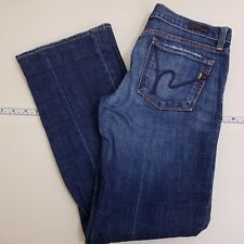 Citizen of Humanity Kelly 001 Boot Cut Jeans Women's Size 28 Stretch Blue Denim