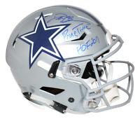 Deion Sanders Signed Dallas Cowboys Authentic Speed Flex Helmet 2 Insc BAS 25974