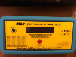 ACT 612 Intelligent Battery Tester 6V/12V With Cloth Case