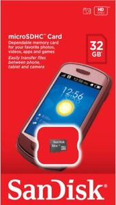 Sandisk 32GB Micro SD Memory Card Samsung Galaxy J3/J5/J7,S3 S4 S5 S6 S7 S8 S9