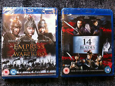 AN EMPRESS AND THE WARRIORS / 14 BLADES / CONFUCIUS / KUNG FU DUNK -  4 BLU RAY