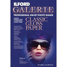 ILFORD GALERIE Classic Gloss Paper professional inkjet photo range 30 fogli A4