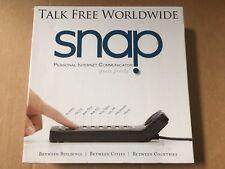 Snap Instant Communicator Talk Free Worldwide Snap Intercom Skype Model 101