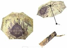 Harry Potter MARAUDERS MAP Foldable UMBRELLA - Officially Licensed Merchandise