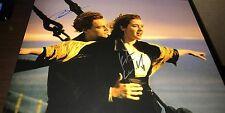 Kate Winslet & Leonardo DiCaprio Titanic Combo Signed 11x14 Photo COA Proof Wow