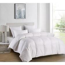 Blue Ridge Home Duraloft 600 Thread Count Cotton Twin Comforter White $100