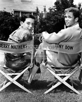 "JERRY MATHERS & TONY DOW ON THE SET OF LEAVE IT TO BEAVER"" - 8X10 PHOTO (FB-377)"