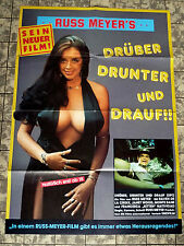 RUSS MEYER * UP !  * A1-FILMPOSTER WA -Ger 1-Sheet RR1986 Drüber, drunter und...