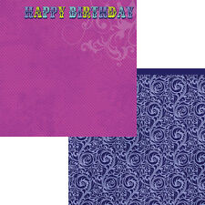 Moxxie - Happy Birthday Scrapbooking Paper - WB-1573