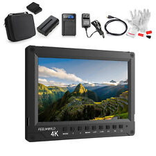 """Feelworld A737 7"""" Moniteur Full HD 1920x1200 4K HDMI + Batterie + Chargeur + cadeau"""