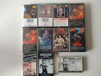 Ozzy Osbourne, Original RARE + singles Cassettes Lot Of 11 Tapes