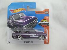 Hot Wheels 2017 Super Treasure T-Hunt $ '67 Chevy C10 Sealed In Short Card