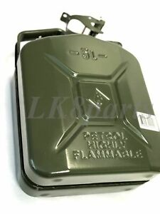 Valpro European Military Spec NATO Style Steel Jerry Can 5L / 1.25 gal. GJC05