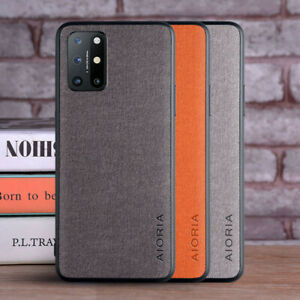 For OnePlus 8T/8T+ Nord N10 5G Shockproof Luxury Fabric Texture Matte Cover Case