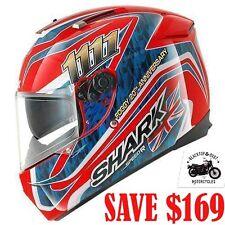 Shark SpeedR S2 Foggy 20th Motorcycle Road Helmet Full Face Red Blue #sh4702rba Large