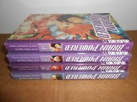 Brain Powered vol. 1-4 Manga Graphic Novel Book Complete Lot in English
