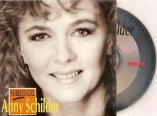 ANNY SCHILDER - working girl CD SINGLE 2TR CARD 1991 (BZN) Holland
