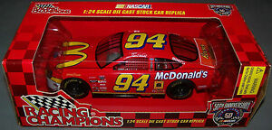 1998 Racing Champions 1:24 BILL ELLIOTT #94 McDonald's Ford Taurus