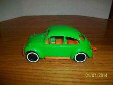 Vintage Dime Store Plastic Baja Buggy VW Bug 7 inch made in USA