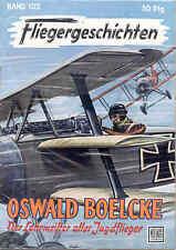"""Fliegergeschichten """"Oswald boelcke"""" +- - Jasta  pilots - WW1"""