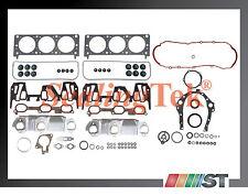 Fit 2000-03 GM 3400 3.4L 207 V6 VIN Code E Engine Full Gasket Set w/ oil pan kit