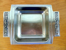 International Decorator Stainless Square Serving Bowl w/ Handles 18/8