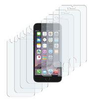 8 x Schutzfolie iPhone 6 6S Crystal Clear 4x Vorder- + 4x Rückseite Klar Folie