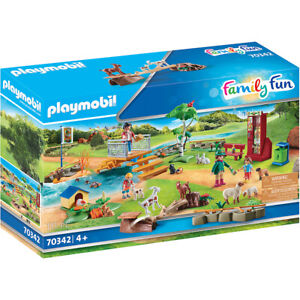 Playmobil Petting Zoo Playset Family Fun with Figures & Accessories 70342 Age 4+