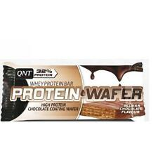 Qnt proteína Oblea Bar concentrado Cuerpo combustible & slimmng (chocolate) 12 X 35g