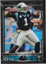 2015 Topps Chrome - CAM NEWTON - Black Refractor #20 - PANTHERS #d 157/299
