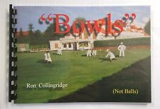 Indoor and Lawn Bowling Book by Ron Collingridge Covers all aspects of the game