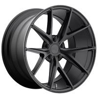 1 NEW WHEEL/RIM MISANO 19x8.5 5x120.00 MATTE BLACK (35mm) NC117