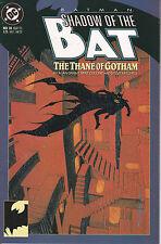 BATMAN SHADOW OF THE  BAT N° 10  Albo in Americano