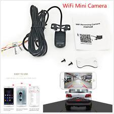 Mini WiFi Car Backup Reverse Parking Camera 150° Angle DVR Recorder Night Vision
