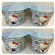 Hello Kitty Mini Dim Sum Instant Noodle Japanese Soy Sauce 4 cups