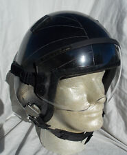 Cold War USAF USN Jet Fighter Pilot's Flight Helmet Type HGU-33/P With Tape