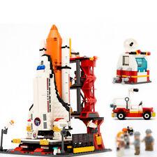 679pcs Space Shuttle Launch Center Model Building Blocks with Astronaut Figures