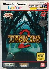 Wonderswan Color Terrors 2 Japan Version US Seller