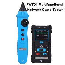 FWT01 Multifunction Network LAN Cable Tester RJ45/11 Wire Tracker Line Finder UK