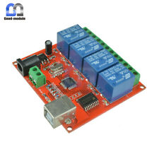 12v Usb Relay 4 Channel Programmable Computer Control For Smart Home New Gm