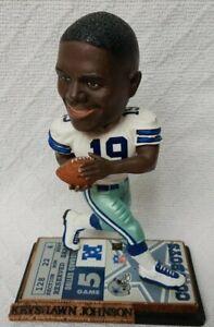 "Dallas Cowboys Keyshawn Johnson Legends of ""The Field"" Bobblehead #517 of 5,004"