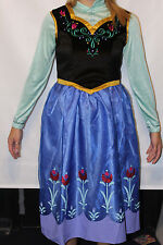 Disney Frozen Anna Halloween Costume Adult size Medium 6-8