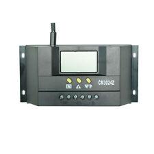 30a 12v/24v LCD Solar Panel Battery Regulator Charge Controller Auto PWM Cm3024z