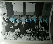 More details for soviet khrushchev 1961 original photo british trade visit ussr banquet 10x8