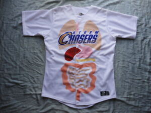 Omaha Storm Chasers Organ Donor Game Used Jersey