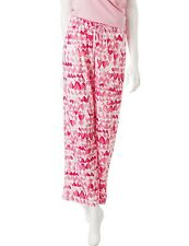 Hue Women's Plus Size - 1X - 100% Cotton Cloud Heart Print Pajama Pants