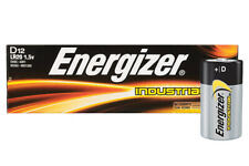 12 x Energizer D Size Industrial Alkaline Batteries LR20 Cell MN1300 Mono Boxed