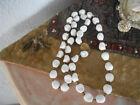 Signed Miriam Haskell Bakelite white necklace