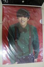 EXO Kris (Wu YiFan) Miracles in December Clear File L-Holder : SM Pop Up Store