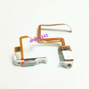 THICK Headphone audio jack flex hold switch fr iPod Video5/5.5th 60GB 80GB White